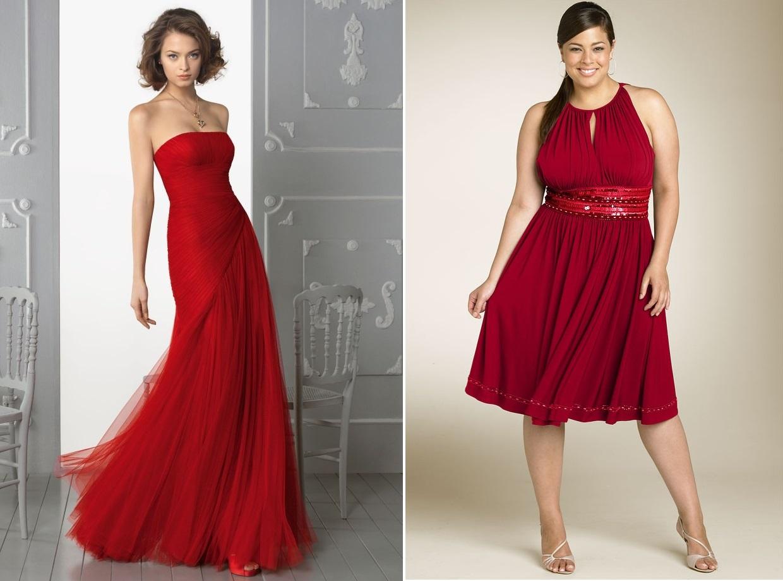 3efa41fd4a468 Ideas para poder combinar un vestido rojo
